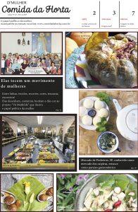 Jornal D'Mulher - Comida da Horta - Ano II - edição impressa, número 07