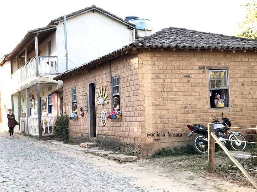 Casa construida na técnica adobe