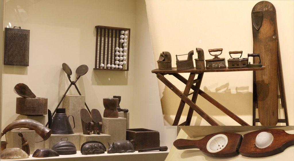 Móveis e utensílios antigos