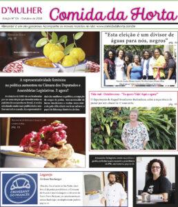 Jornal D'Mulher - Comida da Horta - Ano I - edição impressa, número 04