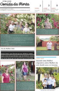 Jornal D'Mulher - Comida da Horta - Ano II - edição impressa, número 06
